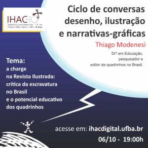 A charge na Revista Ilustrada: crítica da escravatura no Brasil e o potencial educativo dos quadrinhos